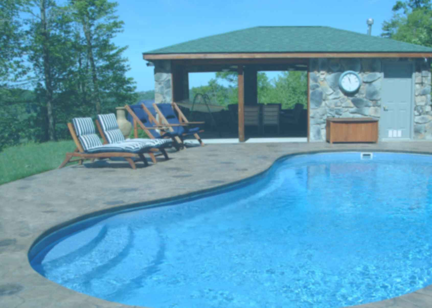 Fiberglass Inground Swimming Pools For West Virginia From